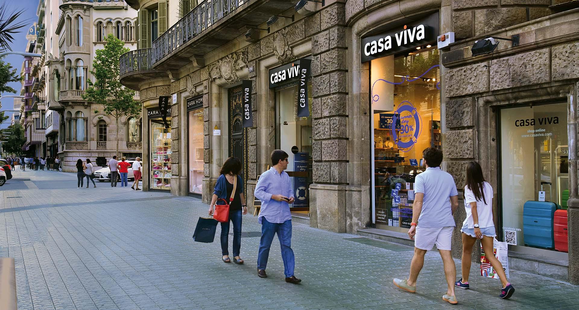 шопинг в Барселоне в мае