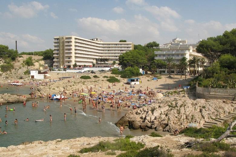 пляж отеля бест кап салоу